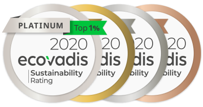 eco-medals EcoVadis Consulting